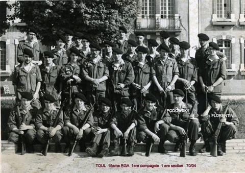 1ère Compagnie - 1ère Section - 70-04