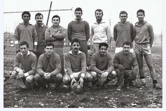Photo équipe régimentaire 25ième RGA 1976 ou 1977